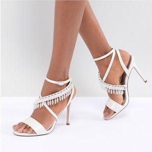 🆕 ASOS DESIGN Hydro Bridal Embellished Sandals